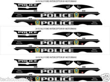 1:24 DECALS WINNIPEG POLICE MOTORMAX FORD INTERCEPTOR SEDAN **NEW RELEASE**
