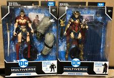 New listing McFarlane Dc Multiverse Wonder Woman Darkfather Ctb & Wonder Woman Bane Ctb Lot