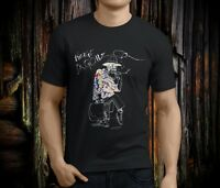 New Dr Gonzo Fear and Loathing Men's Black T-shirt Size S-3XL