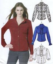 McCall 's Female Shirt Sewing Patterns