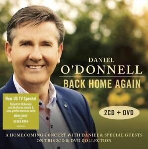 DANIEL O'DONNELL Back Home Again 2CD/DVD BRAND NEW NTSC Region All