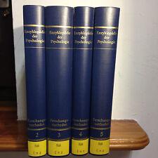 Enzyklopädie der Psychologie Forschungsmethoden 4 Bände (2, 3, 4 & 5)
