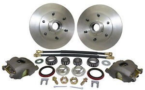 1960-70 CHEVY C10 FRONT TRUCK DISC BRAKE WHEEL COMPONENT KIT, 6-LUG