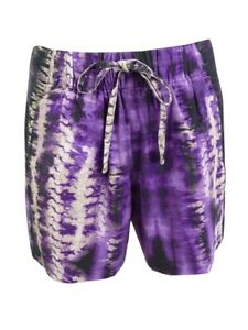 INC International Concepts Women's Tie-Dyed Shorts
