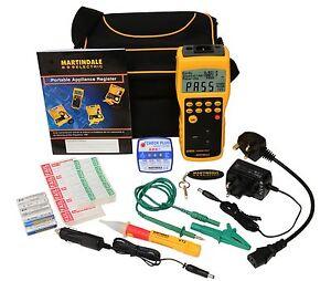 Martindale - HPAT600KIT1 - PAT Tester Kit - QTY 1 (Inc VAT) - REDUCED