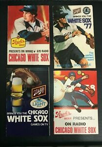 1977- ( Two 78 ) - 79  CHICAGO WHITE SOX POCKET SCHEDULES BUNDLE
