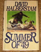 SUMMER OF 49 DAVID HALBERSTAM HARDCOVER 1ST EDITION MYLAR COVER