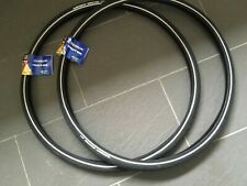 """1 PAIR Michelin Protek 1mm Protection Road Bike Tyres 27"""" x 1 1/4"""" add Tubes"""