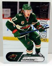 2020-21 Upper Deck NHL Kirill Kaprizov Rookies Card #25 Minnesota RC NM/MT RC