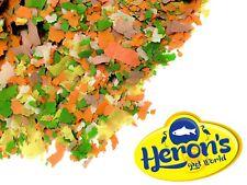 More details for herons 1kg premium pond flakes koi carp goldfish orfe coldwater pond fish food