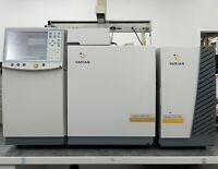Varian 450-GC Gas Chromatograph & 220-MS Mass Spectrometer GCMS System & Pump
