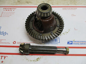 Cub Cadet PULLING 1000 1200 ring and pinion gear with diff for disk brakes