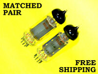 2 x 6p14p = EL84 = 6BQ5    NEW & NOS    Matched Pair on L3-3 tube tester   