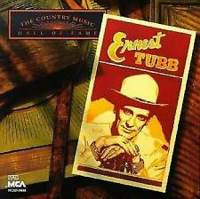 Gently Used CD Ernest Tubb The Country Music Hall of Fame Series 16 Songs Music