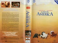 LOST IN AMERICA - Albert Brooks -VHS -PAL -NEW-Never played!-Original Oz release