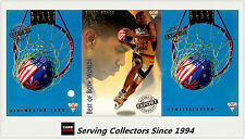 1994 Australia Basketball Card NBL Regular S1 Best Of Both World BW2 L. Copeland