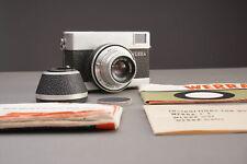 🔴 Carl Zeiss Jena Werra camera with Tessar 50mm f/2.8 lens 🔴