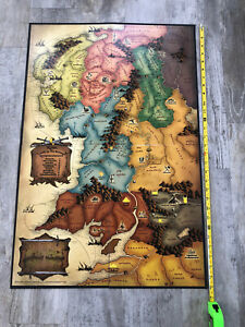 RISK Lord Of The Rings Trilogy Edition Replacement Piece Game Board ONLY LOTR