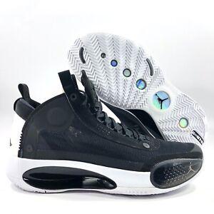 Nike Air Jordan XXXIV 34 Eclipse Black White AR3240-001 Men's 11
