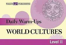 Daily Warm-Ups for World Cultures (Daily Warm-Ups Social Studiesies) by