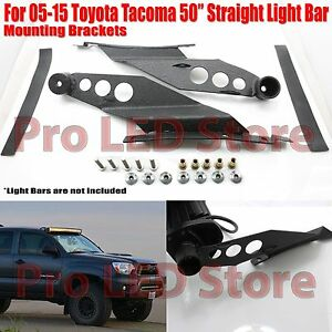 """For 05-15 Toyota Tacoma Roof Mounting Bracket for 50"""" Straight LED Light Bar"""