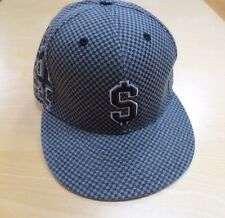 SUPREME NEW ERA 59FIFTY HAT 7 3/8 FITTED NEW YORK BOX LOGO CHECKERED