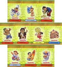 GARBAGE PAIL KIDS ANS3 COMPLETE 10-CARD POP-UP SET 2004 ALL-NEW SERIES 3 foldees