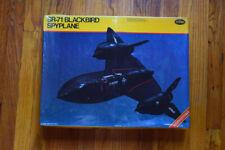 New ListingTestors 1:48 Sr-71 Blackbird Spyplane Plastic Aircraft Model Kit #584U