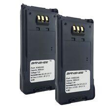2 x KNB-31A KNB-32N SMART Battery(s) for KENWOOD TK-2180 TK-3180 Radio(s)