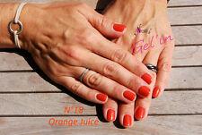 Gel'in soakoff color gel polish n°18 ORANGE JUICE 15ml   V2015  led/uv