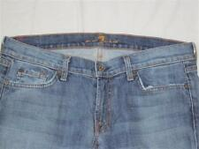 7 For All Mankind SFAMK Women Skinny Roxanne Jeans 31 NEW 2%Spandex Made USA