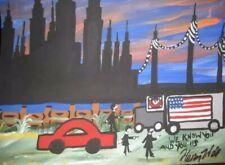 HENRY HILL GOODFELLAS ORIGINAL ARTWORK TEAMSTERS mobster Gangster art crime RARE