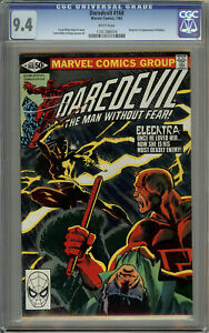 Daredevil #168 CGC 9.4 White Pages - 1st Appearance of Elektra