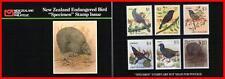 "Neuseeland 1990 Broschüre MNH Vögel "" Specimen "" D1"