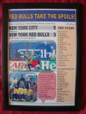 Ciudad de Nueva York 1 New York Red Bulls 3 - 2015 Mls-enmarcado impresión