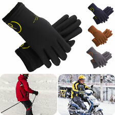 Cycling Gloves Winter Windproof Touchscreen Full Finger Thermal Warm Bike Gloves
