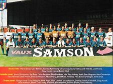 SUNDERLAND FOOTBALL TEAM PHOTO 1994-95 SEASON