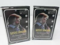 KENNY ROGERS His Greatest Hits & Finest Performance Readers Digest Cassette