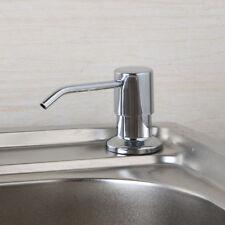 Epak Kitchen Sink Liquid Soap Dispenser Pump Bottle   Chrome