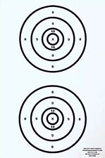 Paper Shooting Targets Gun Pistol Rifle 2x MR65 F-Class 500 Yards Qty:100 23x35