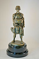 Modern Paratrooper Military Statue