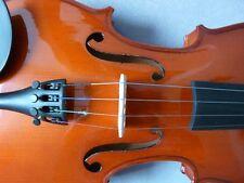 Geige 1/16/1/8 1/4 1/2  Holz Brasilbogen/ Steg & Saiten MADE IN GERMANY