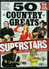 BECKETT 50 Country Music Greats STRAIT Cash Willie Dolly Swift (2014) FREE SHIP