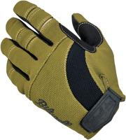 BILTWELL Moto Gloves XS Olive/Black 1501-0309-001