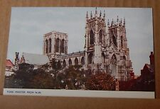 Postcard York Minster From N.W Exterior Photochrom Card   unposted