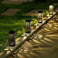 1/2/4 Pack Solar Powered LED Lawn Light Outdoor Garden Decoration Pathway Lamp