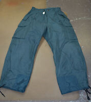 Used Canadian air force blue cold weather trousers pants size 7034 (P5#bte155)