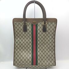 Vintage Gucci Tote Bag  Browns PVC 1712261