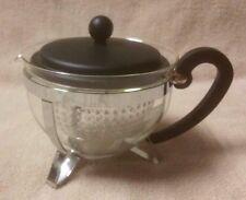 BODUM CHAMBORD 34 oz Glass Tea Pot Teapot Kettle Infuser Glass w/ Plastic Insert