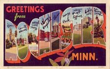 Greetings From Rochester, Minn. written explanations of various views